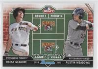 Reese McGuire, Austin Meadows
