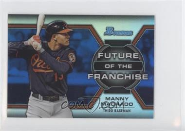2013 Bowman Draft Picks & Prospects Future of the Franchise Blue Refractors #FF-MM - Manny Machado /250