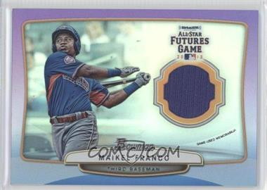 2013 Bowman Draft Picks & Prospects Future's Game Relics Purple #FGR-MF - Maikel Franco /10