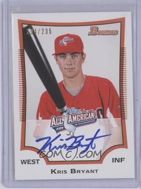 2013 Bowman Draft Picks & Prospects Perfect Game All-American Autographs #KB2 - Kris Bryant /235