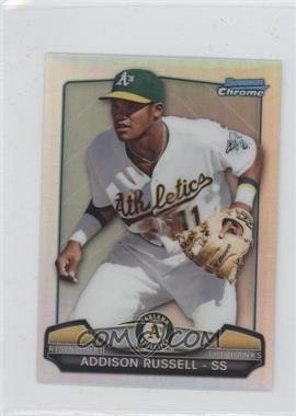 2013 Bowman Draft Picks & Prospects Risin' Through the Ranks Chrome Minis #RTR-AR - Addison Russell