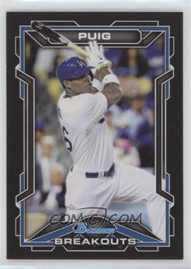 2013 Bowman Draft Picks & Prospects Scout Breakouts #BSB-YP - Yasiel Puig