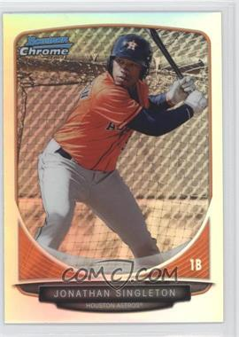 2013 Bowman Draft Picks & Prospects Top Prospects Chrome Refractor #TP-34 - Jonathan Singleton