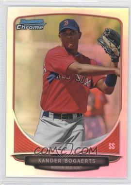 2013 Bowman Draft Picks & Prospects Top Prospects Chrome Refractor #TP-40 - Xander Bogaerts