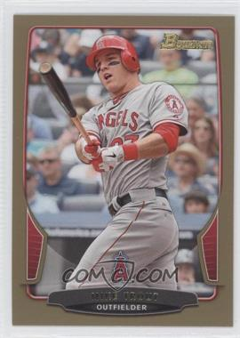 2013 Bowman Gold Border #121 - Mike Trout
