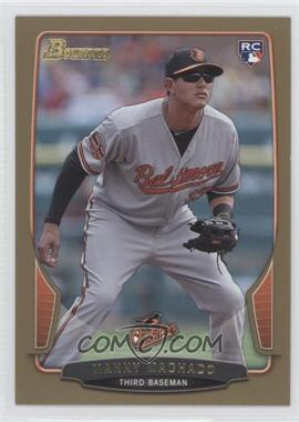 2013 Bowman Gold Border #215 - Manny Machado