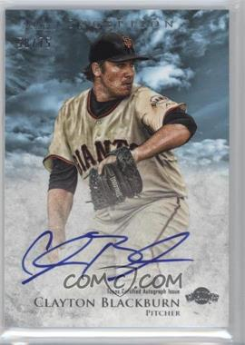 2013 Bowman Inception - Prospect Autographs - Blue #PA-CBL - Clayton Blackburn /75