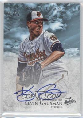 2013 Bowman Inception - Prospect Autographs - Blue #PA-KG - Kevin Gausman /75