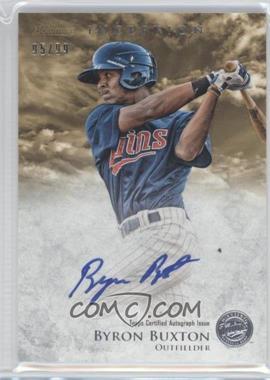 2013 Bowman Inception - Prospect Autographs - Gold #PA-BB - Byron Buxton /99