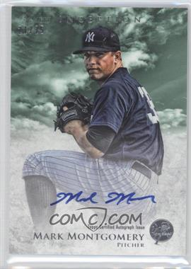 2013 Bowman Inception - Prospect Autographs - Green #PA-MM - Mark Montgomery /25