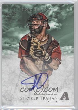 2013 Bowman Inception - Prospect Autographs - Green #PA-ST - Stryker Trahan /25