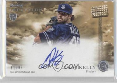 2013 Bowman Inception - Rookie Autographs - Gold #RA-CK - Casey Kelly /99