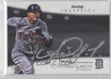 2013 Bowman Inception - Silver Signings Autographs - [Autographed] #SS-AG - Avisail Garcia /25