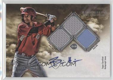2013 Bowman Inception Ascension Collection Autographed Relics #ACR-BH - Billy Hamilton