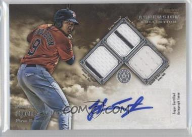 2013 Bowman Inception Ascension Collection Autographed Relics #ACR-JS - Jonathan Singleton