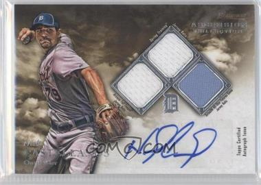 2013 Bowman Inception Ascension Collection Autographed Relics #ACR-NC - Nick Castellanos