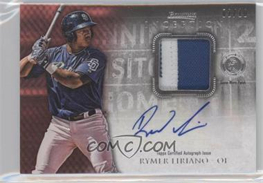 2013 Bowman Inception Autographed Patches Red #APA-RL - Rymer Liriano /10