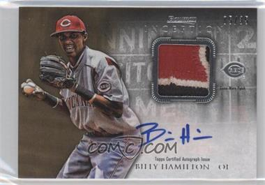 2013 Bowman Inception Autographed Patches #APA-BH - Billy Hamilton /35
