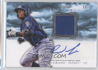 2013 Bowman Inception Autographed Relics Blue #AR-RL - Rymer Liriano /25