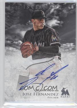 2013 Bowman Inception Prospect Autographs [Autographed] #PA-JF - Jose Fernandez