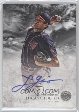2013 Bowman Inception Prospect Autographs [Autographed] #PA-LG - Lucas Giolito