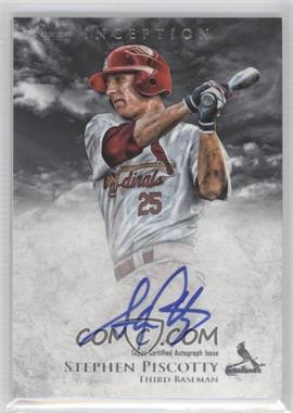 2013 Bowman Inception Prospect Autographs [Autographed] #PA-SP - Stephen Piscotty