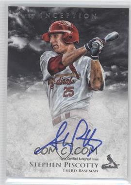 2013 Bowman Inception Prospect Autographs [Autographed] #PA-SP - Stephen Piscotty