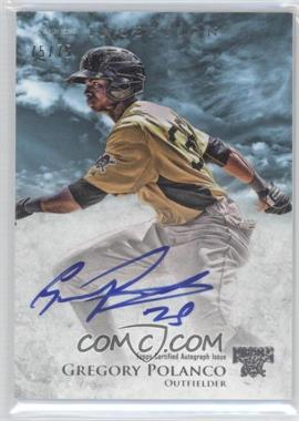 2013 Bowman Inception Prospect Autographs Blue #PA-GP - Gregory Polanco /75
