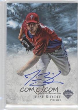 2013 Bowman Inception Prospect Autographs Blue #PA-JBI - Jesse Biddle /75