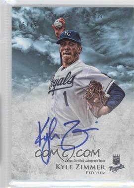 2013 Bowman Inception Prospect Autographs Blue #PA-KZ - Kyle Zimmer /75