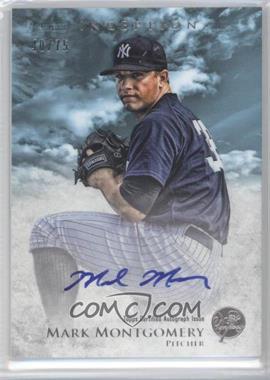 2013 Bowman Inception Prospect Autographs Blue #PA-MM - Mark Montgomery /75