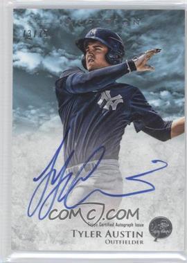 2013 Bowman Inception Prospect Autographs Blue #PA-TA - Tyler Austin /75