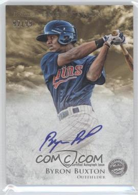 2013 Bowman Inception Prospect Autographs Gold #PA-BB - Byron Buxton /99