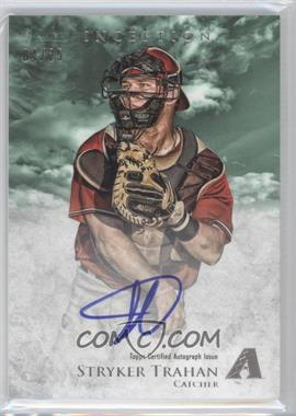 2013 Bowman Inception Prospect Autographs Green #PA-ST - Stryker Trahan /25