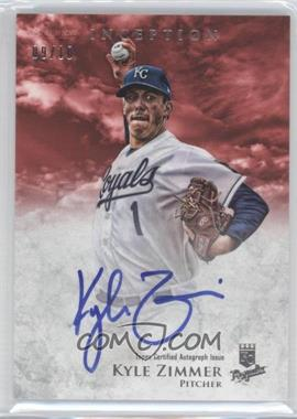 2013 Bowman Inception Prospect Autographs Red [Autographed] #PA-KZ - Kyle Zimmer /10