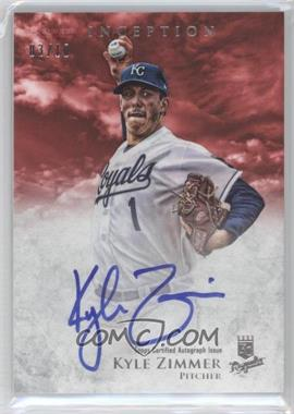 2013 Bowman Inception Prospect Autographs Red #PA-KZ - Kyle Zimmer /10