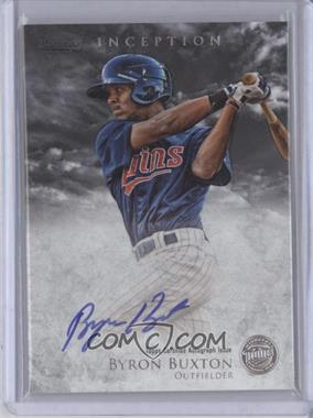 2013 Bowman Inception Prospect Autographs #PA-BB - Byron Buxton