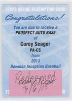 Corey Seager [REDEMPTION Being Redeemed]