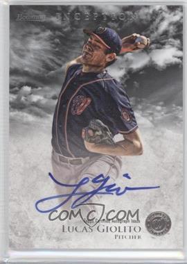 2013 Bowman Inception Prospect Autographs #PA-LG - Lucas Giolito