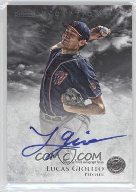 2013 Bowman Inception Prospect Autographs #PA-LG - Lucas Giolito