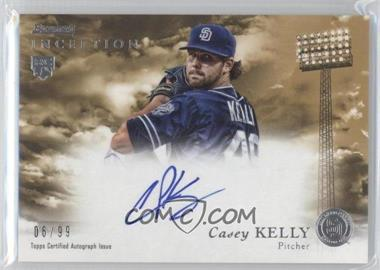 2013 Bowman Inception Rookie Autographs Gold #RA-CK - Casey Kelly /99