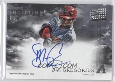 2013 Bowman Inception Rookie Autographs #RA-DG - Didi Gregorius