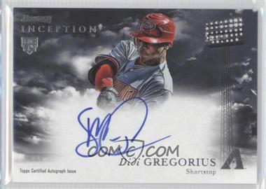 2013 Bowman Inception Rookie Autographs #RA-DG - Didi Gregorius