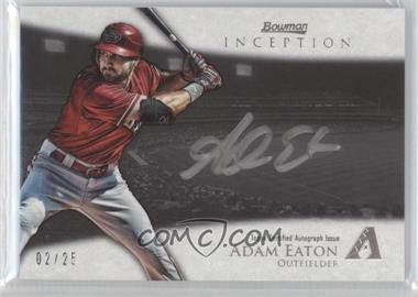 2013 Bowman Inception Silver Signings Autographs [Autographed] #SS-AE - Adam Eaton /25