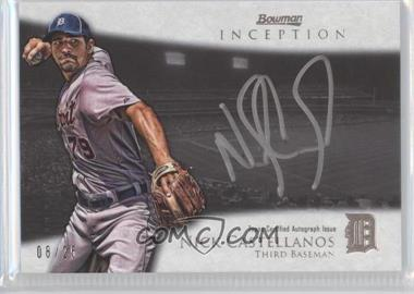 2013 Bowman Inception Silver Signings Autographs [Autographed] #SS-NC - Nick Castellanos /25