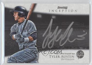 2013 Bowman Inception Silver Signings Autographs [Autographed] #SS-TA - Tyler Austin /25