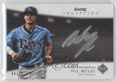 2013 Bowman Inception Silver Signings Autographs [Autographed] #SS-WM - Wil Myers /25