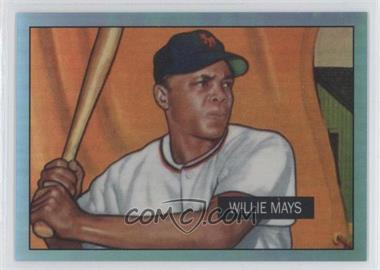2013 Bowman Multi-Product Insert Blue Sapphire 1st Bowman Card Reprints Refractor #305 - Willie Mays