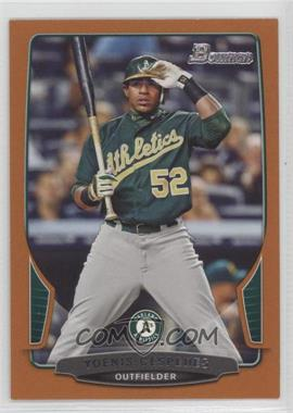 2013 Bowman Orange #194 - Yoenis Cespedes /250