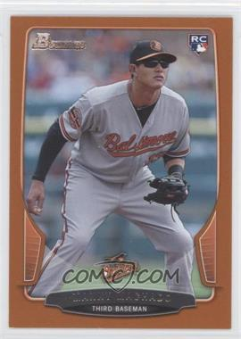 2013 Bowman Orange #215 - Manny Machado /250
